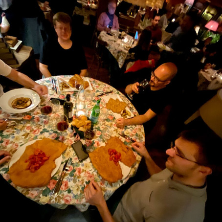 Italian Work + Food trip