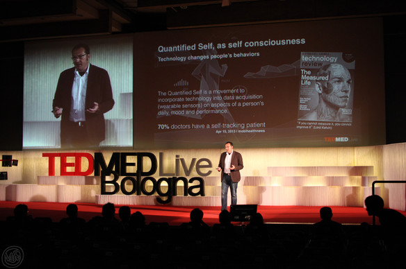 After a TEDx, this is my first TED MED live