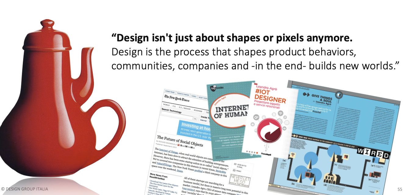 Design isn't just about shapes or pixels...