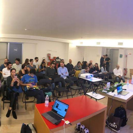 IoT Designer: Presenting (remotely) my book at TAG Brescia