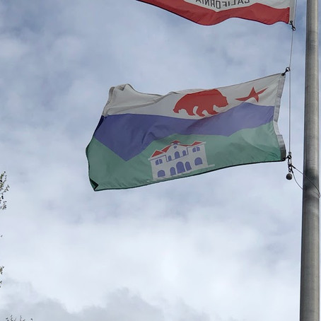 Sonoma: hometown of the very first California's flag