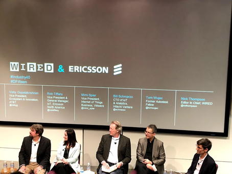 Ericsson + Wired + IoT + 5G