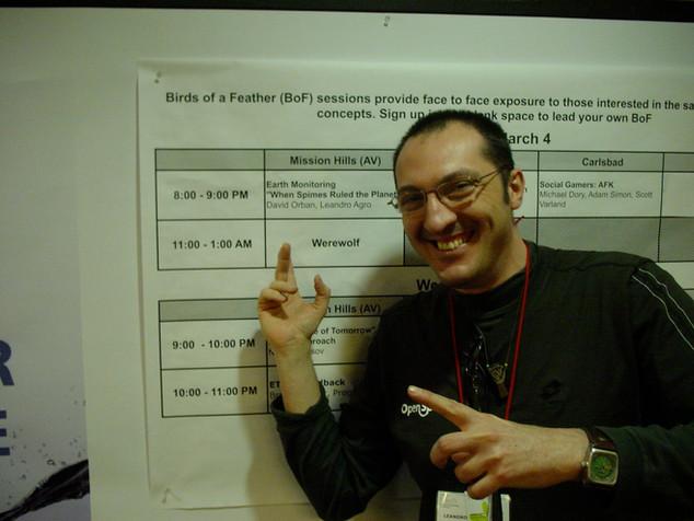 First speech at eTech (self organised)