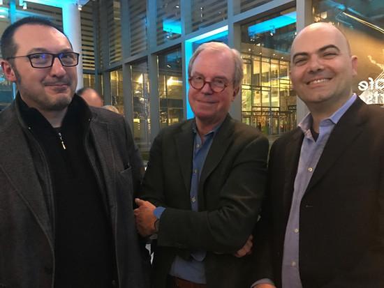 Boston, with Nicholas Negroponte at Gita Premier