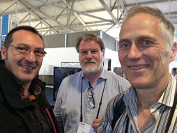 with Tim O'reilly at SolidCon in San Francisco