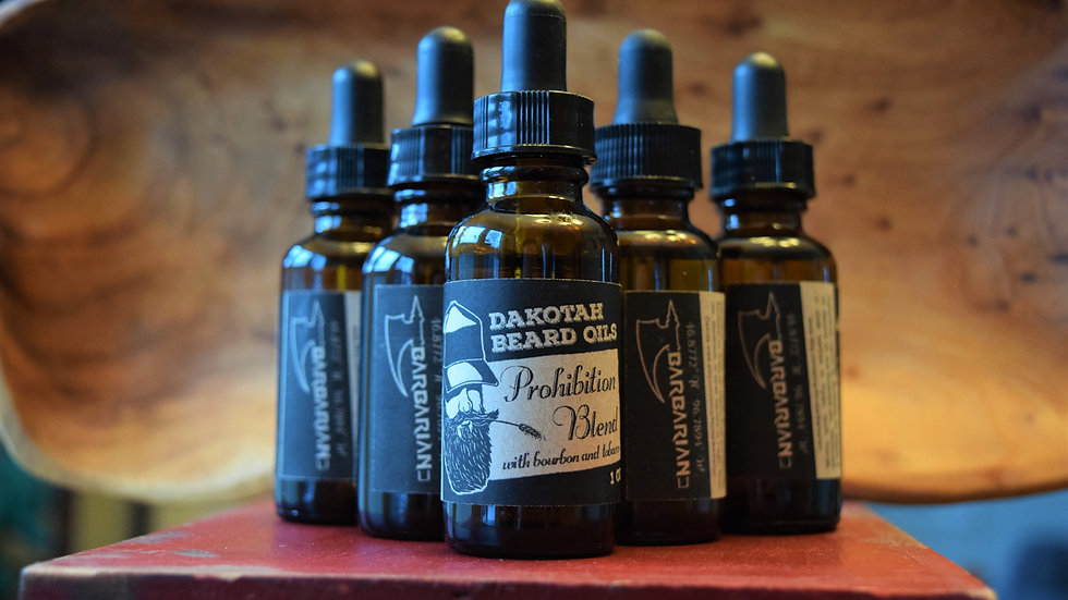 Dakotah Beard Oils Prohibition Blend