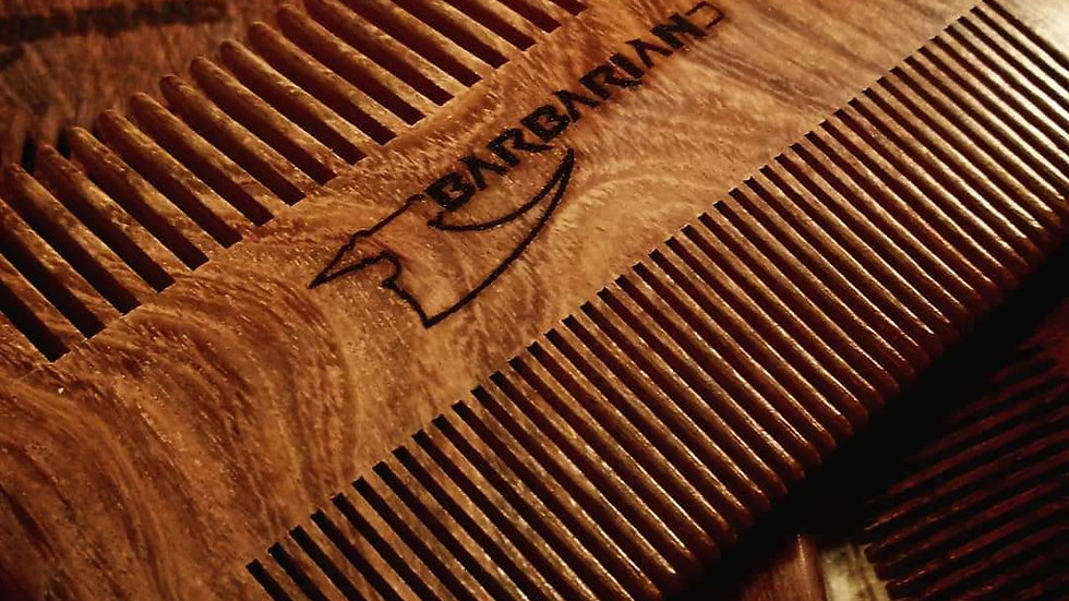 Barbarian Double Sided Comb