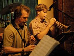Bruce Williamson and Shane Endsley