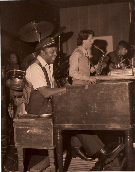 L to R - Joe Dukes, Jack Mcduff, Bruce Williamson, Dave S