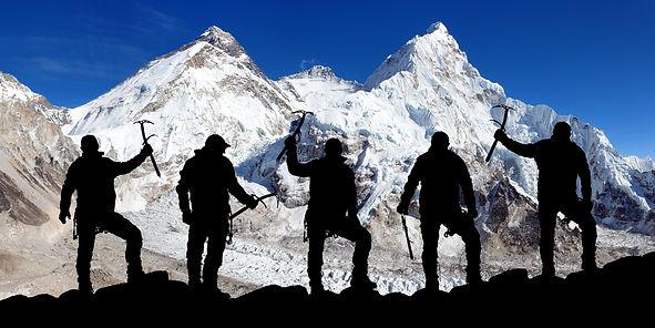 View of mount Lhotse from Pumo Ri base c