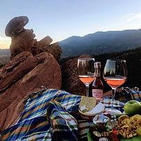 Sunset Picnic Colorado