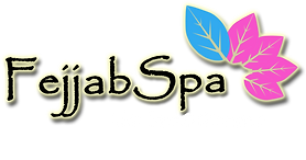 Fejjab Spa Logo WHITE w skincare and mas