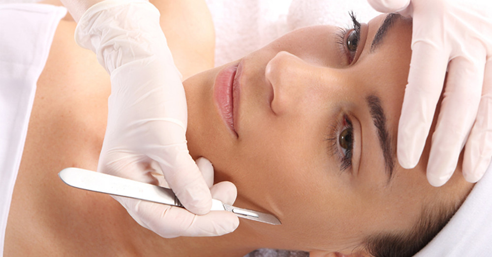 dermaplaning facial in Whittier