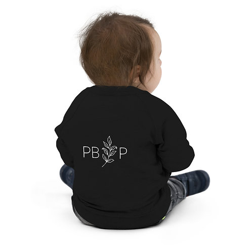 Baby-Toddler Organic Embroidered Bomber Jacket