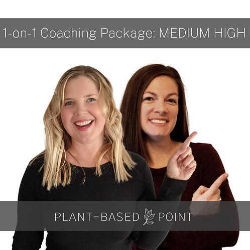 Personalized Coaching - MEDIUM HIGH
