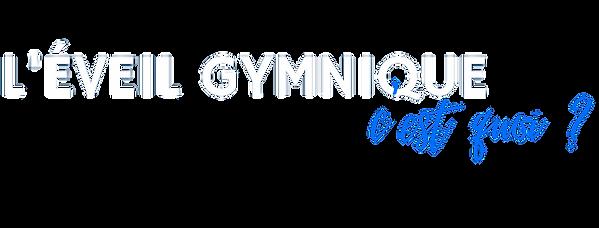 eveil gymnique BGR
