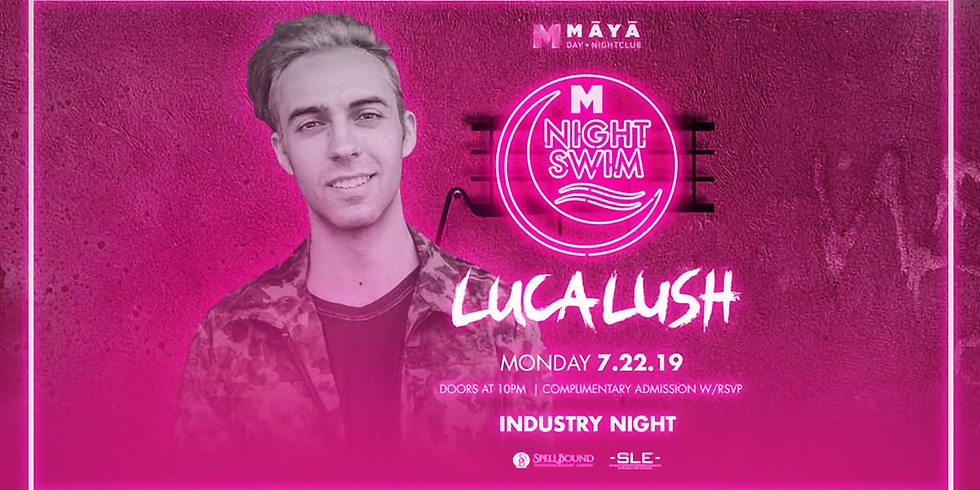 Maya Night Swim with Luca Lush