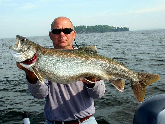 experienced fishing guide on Lake Champlain