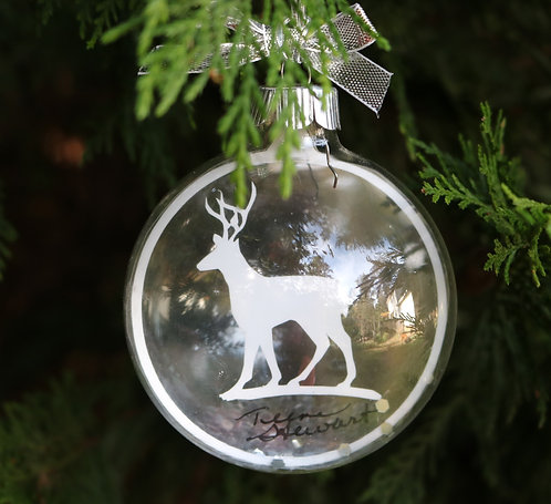 White Deer Ornament Limited Edition