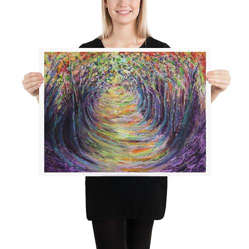 Tunnel of Trees Fine Art Print