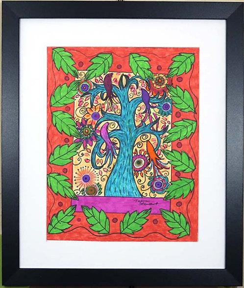 Mexican Folk Art Birds