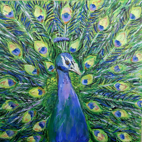 Peacock Painting 2