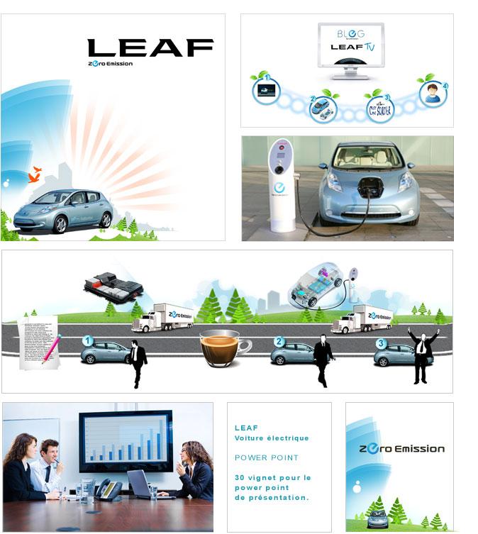 identite visuelle leaf
