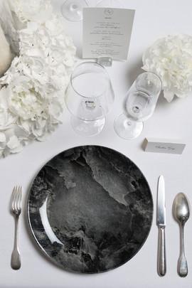 wedding table art