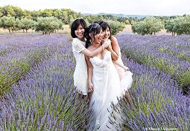 Mariage chinois à Aix en Provence