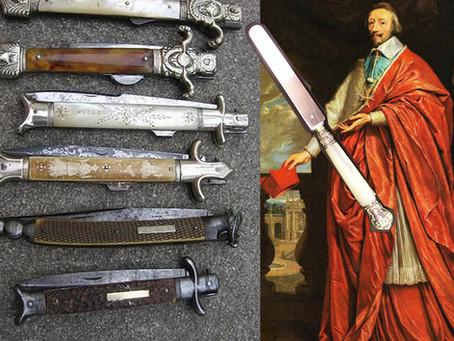 L'histoire du couteau à bout rond en France