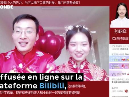 Coronavirus en Chine : le bond des mariages en ligne