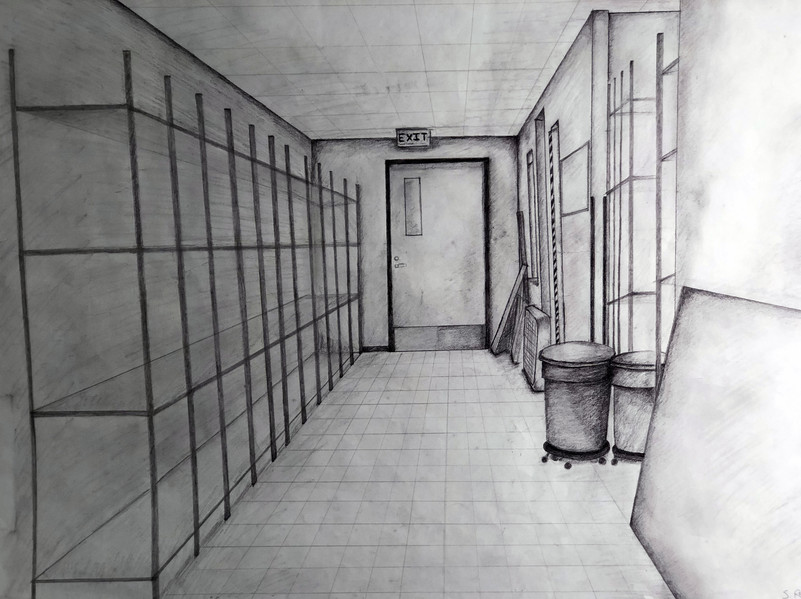 PERSPECTIVE DRAWING  2