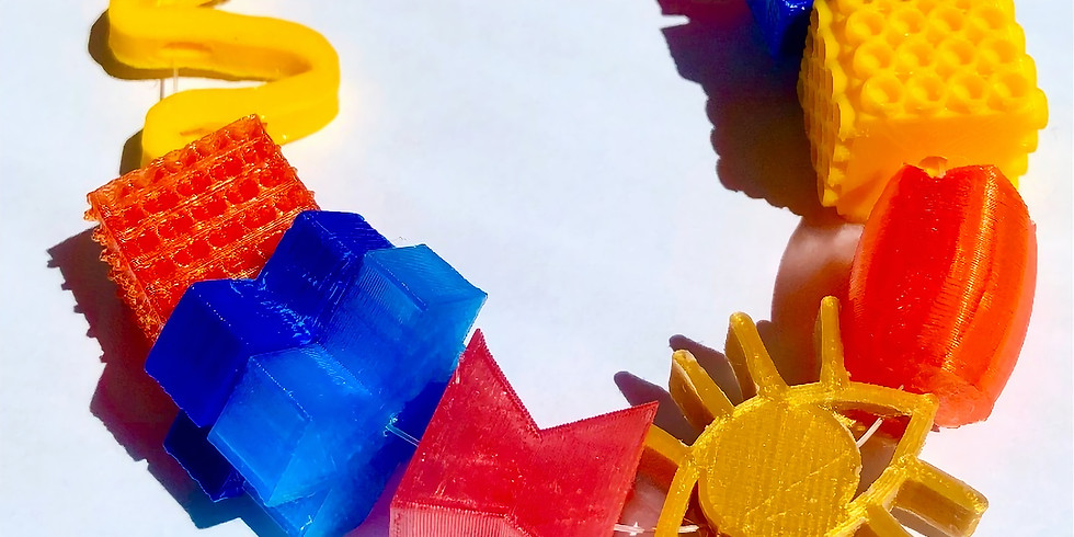 Sip & Skills - 3D Printed Beads!  (AVM)