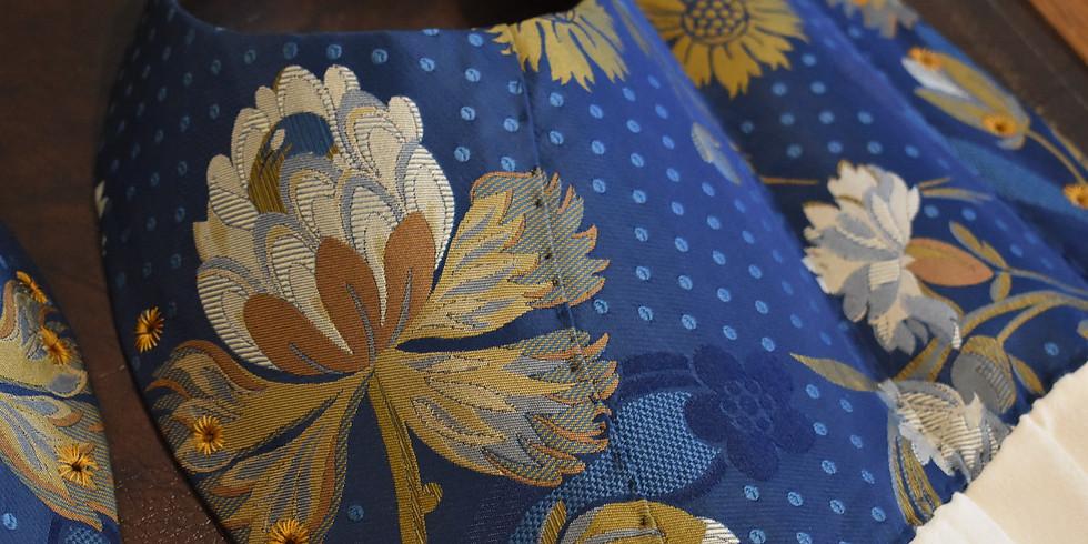 Historical Costume Design: 1770s Stays Drafting AFP0