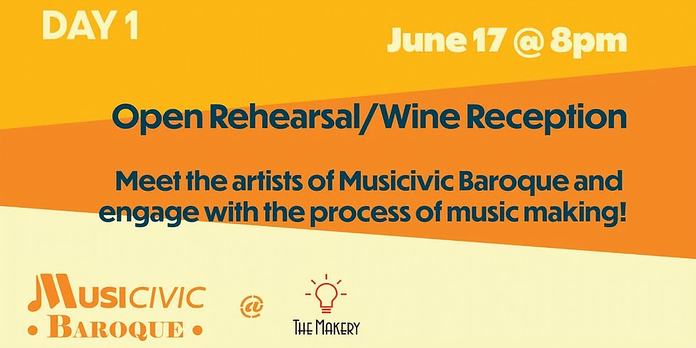 MUSICIVIC - Open rehearsal & reception