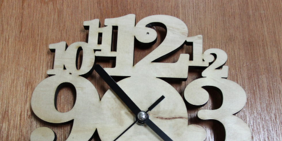 Designing and Making with the Laser-Cutter: Clocks & More