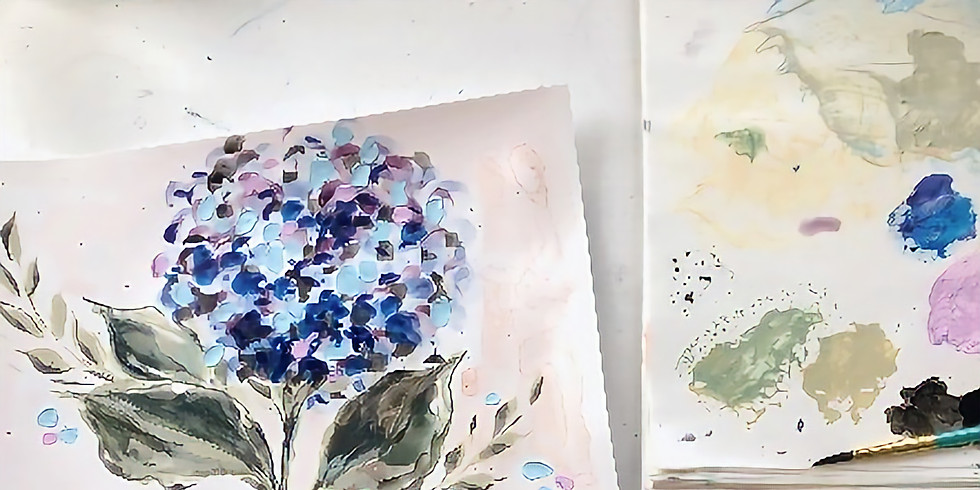 Intro To Watercolor Florals with Paige - AVM