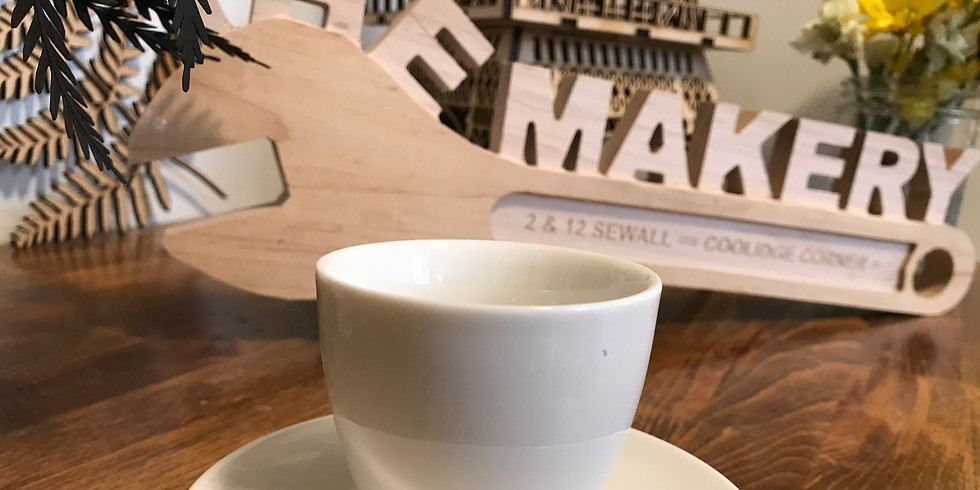 Maker Cafe - It's a coffee party!