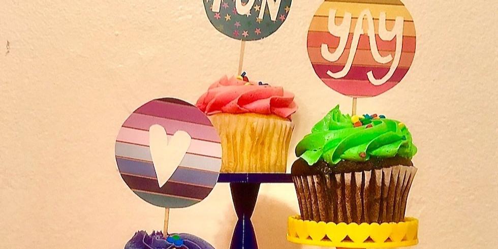 Sip & Skills - 3D Printed Cupcake Stands!  (AVM) (2)