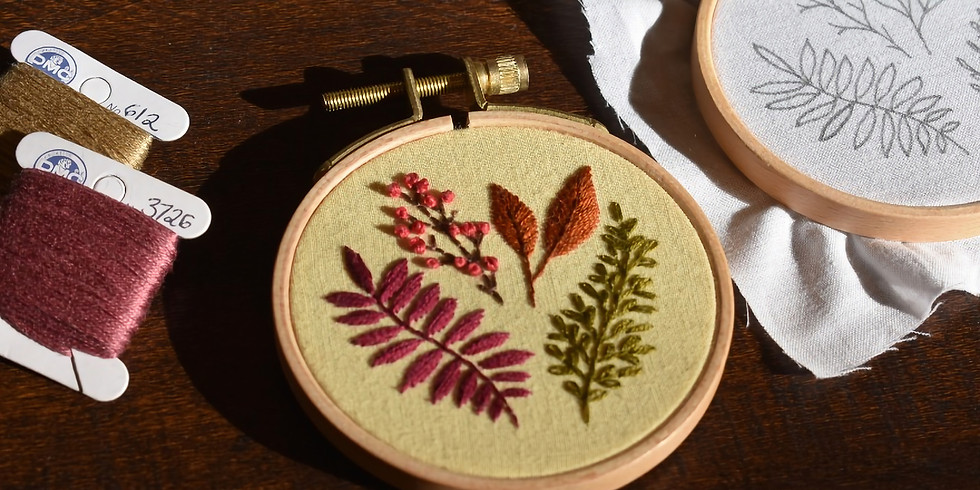 Botanical Embroidery: Essential Stitches :  AFP0