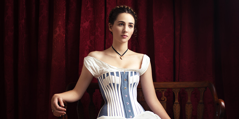 Late Victorian Corset Making Class - Patterning and Fitting :  AFP0