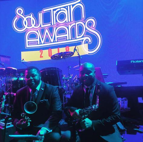 Soul Train Awards 2018 Horn Section