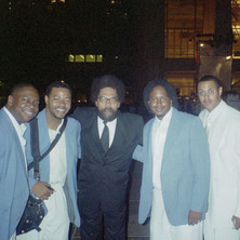With Cornell West at Lincoln Center (2004)
