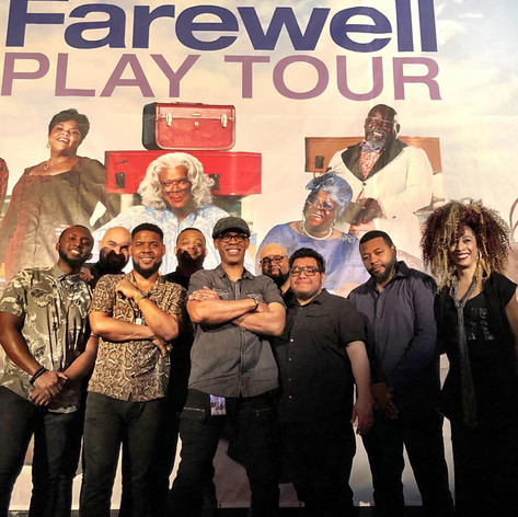 """The House Band for Tyler Perry's """"Madea Farewell Tour"""" Stage Play"""