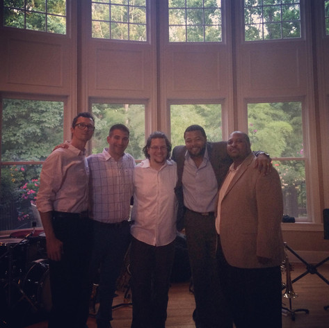 With the Mace Hibbard Quintet