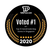 Kedai Koolcats Voted #1 for Top 10 Handmade Bag Stores Shops in Singapore on TallyPress