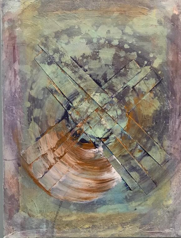 Windmill 1 - 14x18 - SOLD