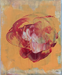 Rose Heart 2 - 16x20 - SOLD