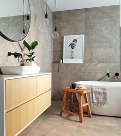 Kingborough house bathroom vanity