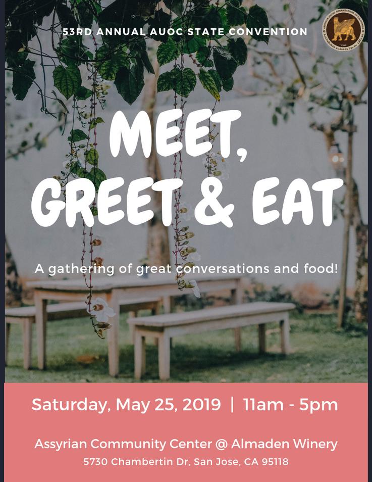 AUOC - Meet, Greet & Eat